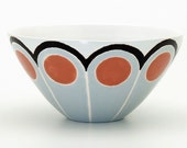 Mini bowl in Pelmet design, Vapid colorway