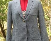 Vintage Gray Blazer