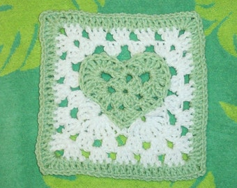Fox's 7 x 7 Heart of a Granny Square pattern