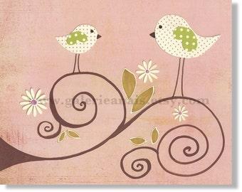 Nursery art prints - baby art - nursery decor - nursery art  -kids room decor - child decor - Le Printemps print from Paris