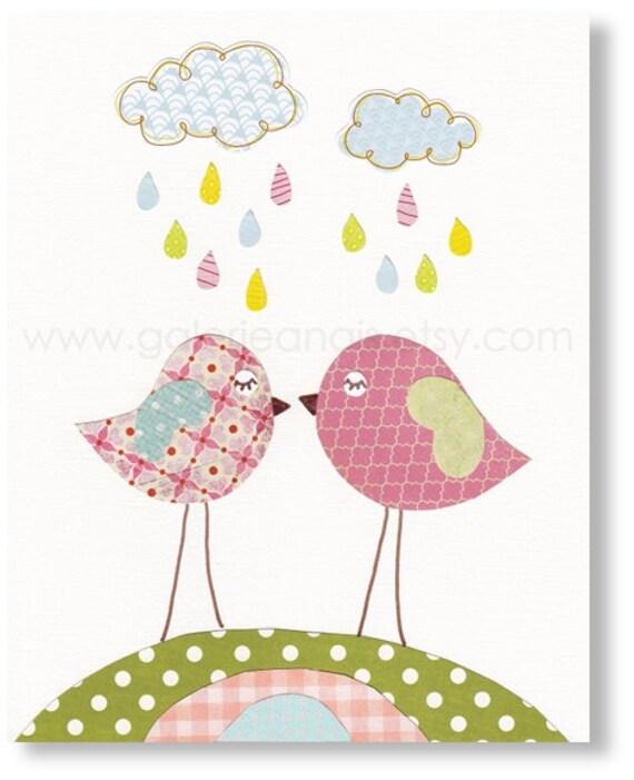 Etsy Girl Nursery Wall Decor : Baby girl nursery decor by
