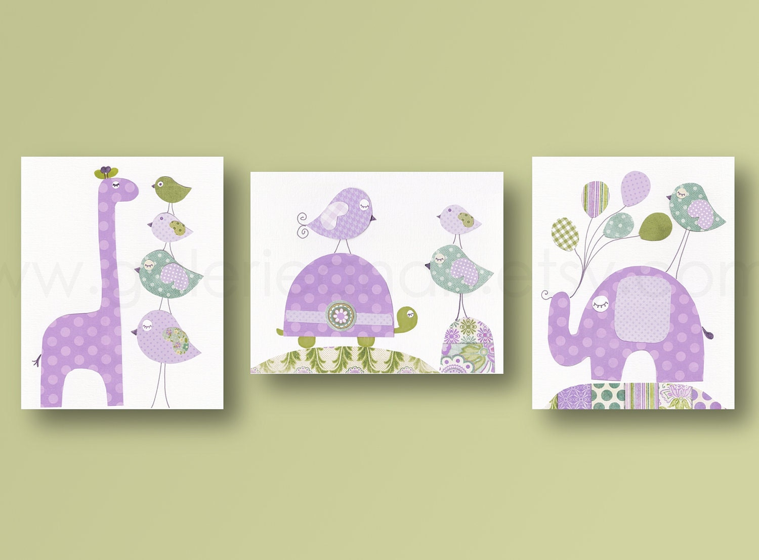 Girl room decor nursery art baby girl nursery decor turtle for Nursery wall art