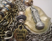 Religious Rosary Devotion Necklace Series Our Lady Mother Mary
