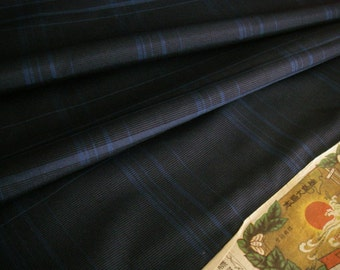 Vintage Silk Japanese kimono fabric (Oshima)never used