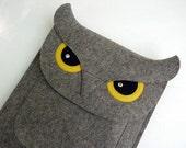 Owl iPad Air 1 / 2, iPad  2 / 3 / 4 felt case