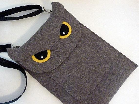 Owl  MacBook Air 11 inch case, laptop felt case