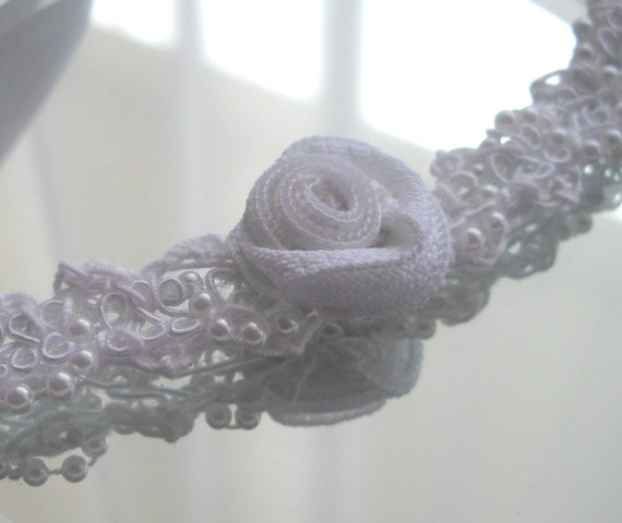 Bohemian Hippie  Inspired Crochet Choker White Thread Crochet Adjustable Handmade Seen At Martha Stewart Wedding Party 2015 handcraftusa