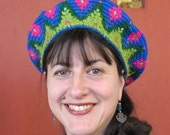 Crocheted Crown Hat