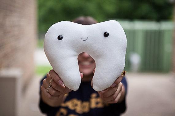 Tooth Fairy Plush - White Pocket