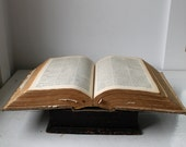 25% off barn sale Antique 1889 book. Harper's New Latin Dictionary. 19th century hardcover.