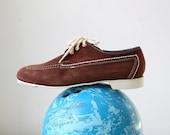 Chili-bowl shoes by Dexter, 1970s deadstock, men's 7.5