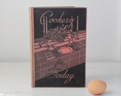 vintage cookbook. Cookery for Today. 1932. Art Deco.