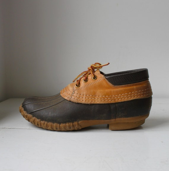 vintage L.L. Bean Maine Hunting Shoes. Low. M 8 or W 9.5 to 10