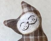 Cat Plush Folk Wool - Oak Ridge Cat