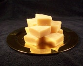 Lemongrass and Spearmint. all natural hand made soap no color added