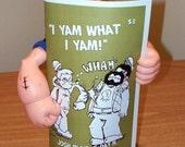 Postal b/w I Yam What I Yam