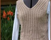 Cotton/Linen blend Woman's Vest