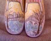 Custom Drawn Shoes