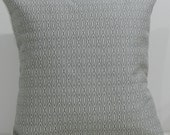 New 18x18 inch Designer Handmade Pillow Case in grey