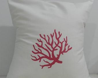 New 18x18 inch Designer Handmade Pillow Case pink coral
