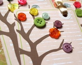 Technicolor Tree Tags