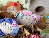 Recycled Paper Birds - Birds Gone Green - a tweet for the environment