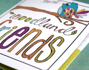 Pocket Notebook - Woodland Friends