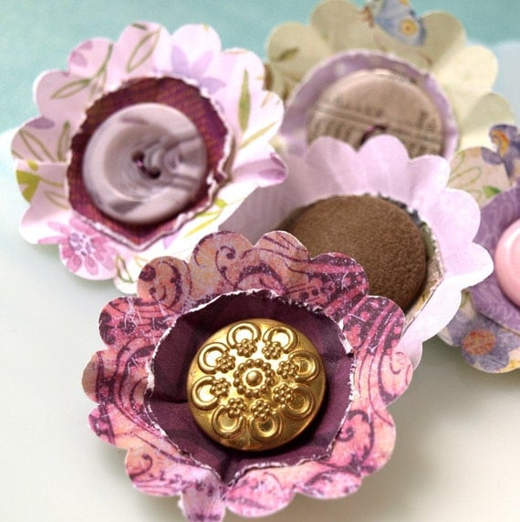 Flowers - Posey Patch Lavender Hill Collection - set 4
