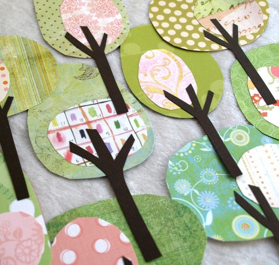 Paper Trees - Think Spring Collection