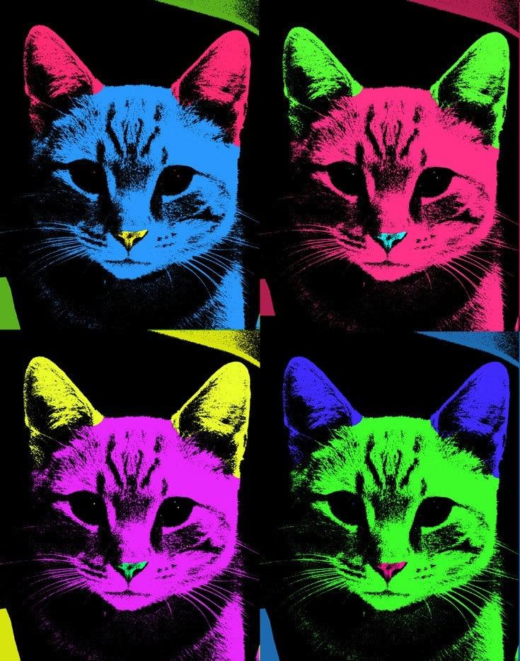 Andy Warhol Cat Drawings