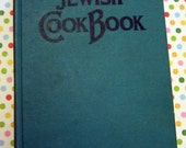 DEAL of the DAY - Vintage Book - Jewish Cook Book - 1958 - International Cooking According to the Jewish Dietary Laws Orig 11.50