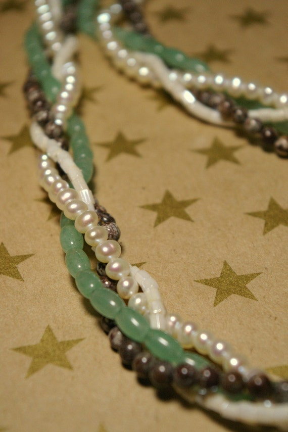 The Donna Necklace -- Mint Chocolate