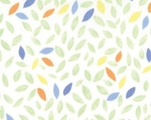 SALE - Leaves in Grass Green by Deb Strain for Moda - 1 Yard
