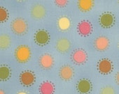SALE - Dots fabric in Sky BOUTIQUE by Chez Moi for Moda - 1 yard