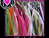50 Variety Pack of Ribbon and Cord Necklaces in a Vareity of Colors - Welcome to Studio66