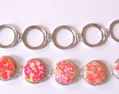 Bracelet Blanks Set of Two with TEN Matching Glass Cabs or I Luv U Brand Epoxy Dropx - New to Studio66