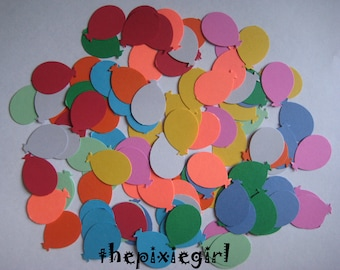 MARTHA STEWART BALLOON Paper punches100 Die Cuts Embellishments Mixed Colors