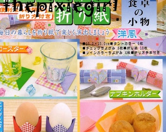 JAPANESE ORIGAMI PAPER Craft Kit, Double Sided, Single Sided, Solids, Prints