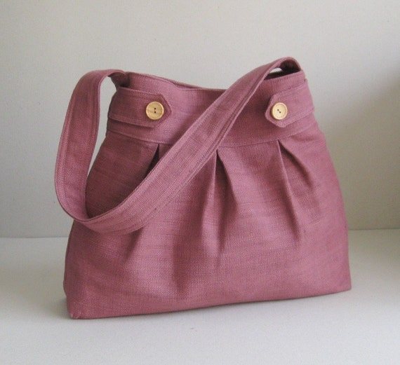 Mulberry Hemp/Cotton Bag - Buttons n Arrows