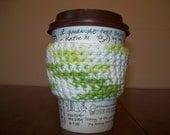 Sale- Key Lime Cup Cozy