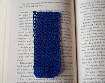 Sapphire Blue Bookmark