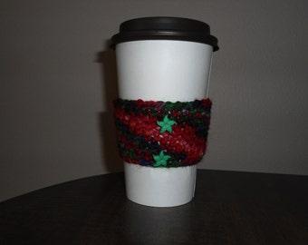 Rainbow Starfish Cup Cozy