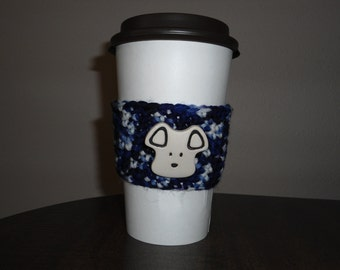 Sale- Puppy Blues Cup Cozy