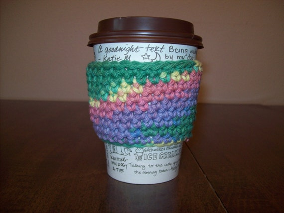 Pretty Pastels Cup Cozy
