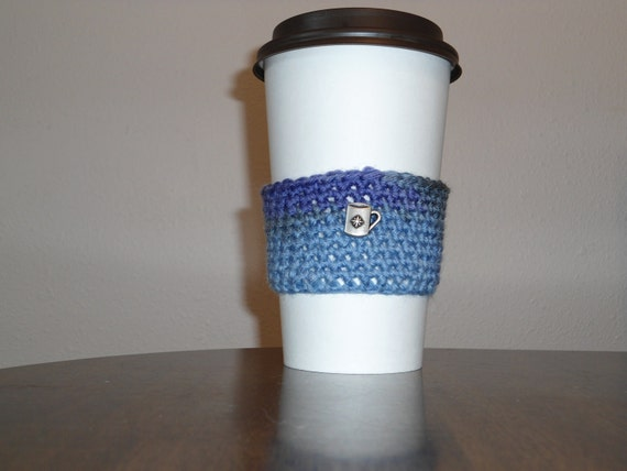 Blue and Purple Cup Cozy