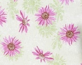 Washable Pee Piddle Pads for Pets in Pink/Green Daisies