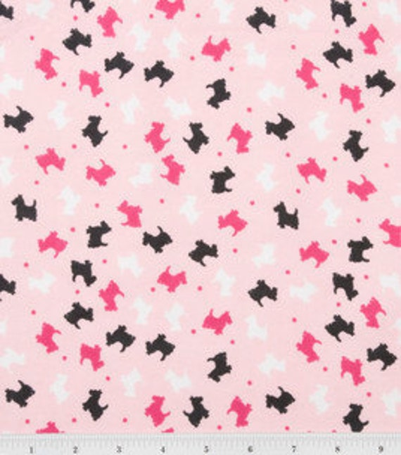 Wasbable Pee Piddle Pads for Pets and Babies in Pink Scottie Dogs
