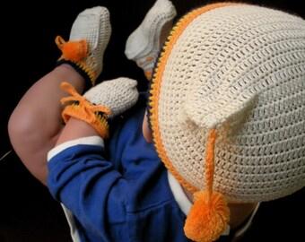 Be My Star Organic Cotton - 3 pieces Crochet Accessories Set