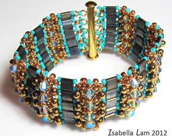 TB Tila Bracelet tutorial Exclusively PDF Beading tutorial for personal use only