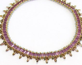 PTN Tila Necklace Tutorial instructions for personal use only